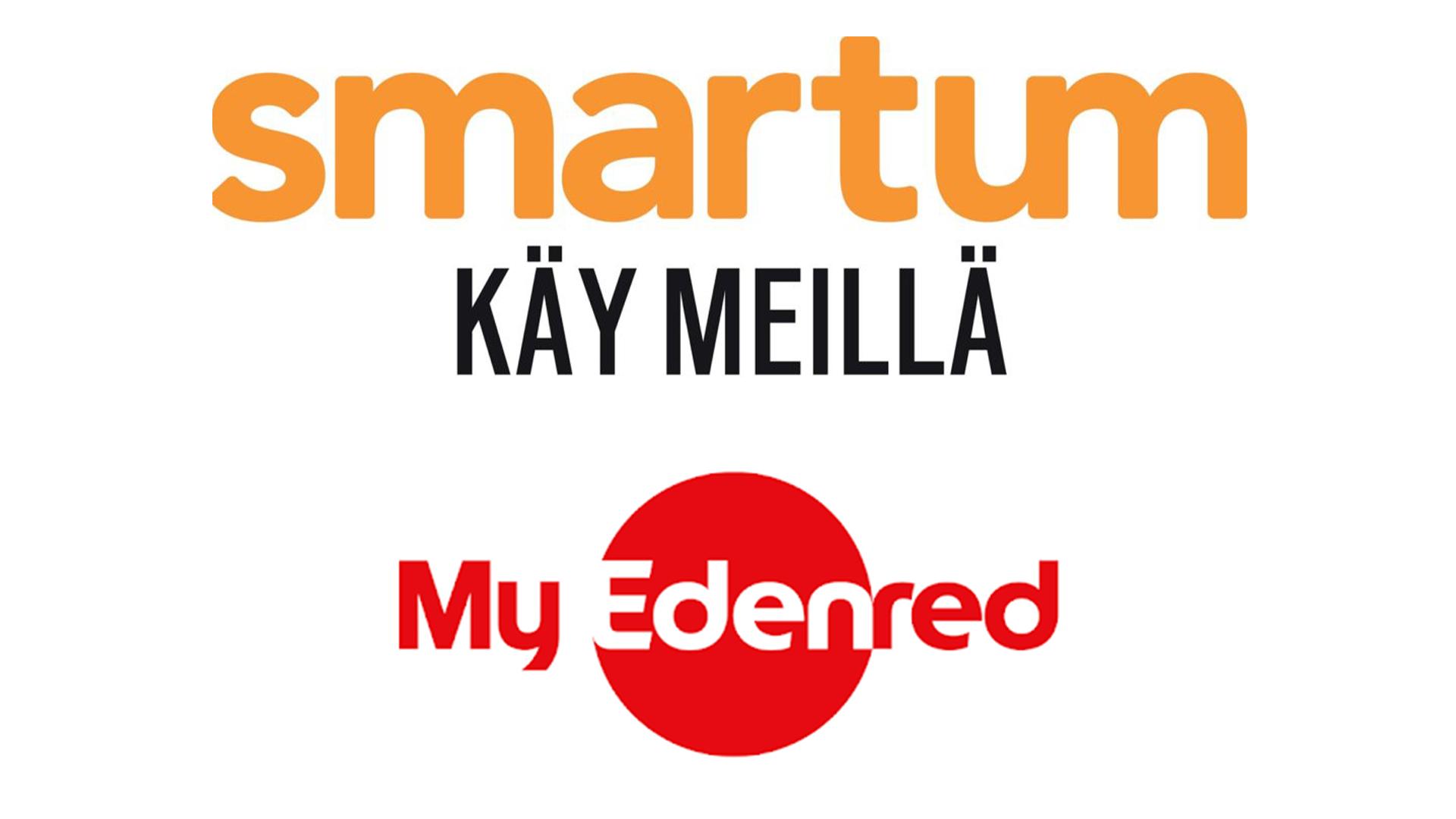 Meillä voit myös maksaa Smartumin ja MyEdenredin liikunta- ja kulttuuriseteleillä!